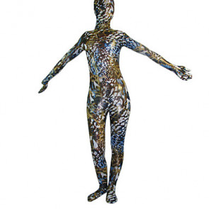 Multicolor Aether Full body Zentai