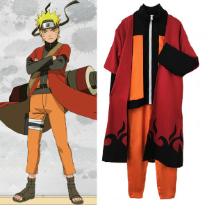 Naruto ナルト Cosplay Costume Uzumaki Naruto Cloak うずまき ナルト Cosplay Costume