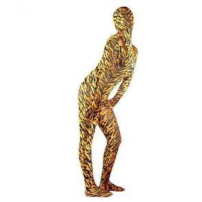 Sexy Tiger Pattern Unisex Zentai Suit