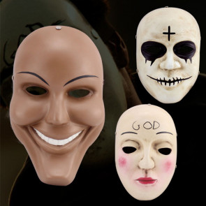 The Purge Anarchy Movie God Mask Cross Mask Smile Mask