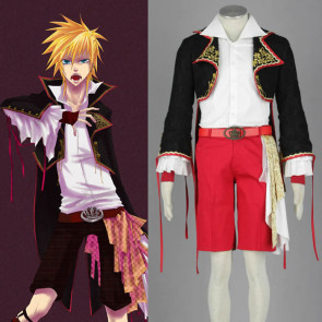 Vocaloid Family Sandplay Kagamine Len Cosplay Costume
