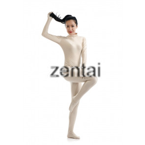 Women's Full Body Flesh Color Spandex Lycra Zentai