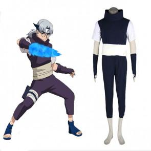 Naruto Kabuto Yakushi Cosplay Costume
