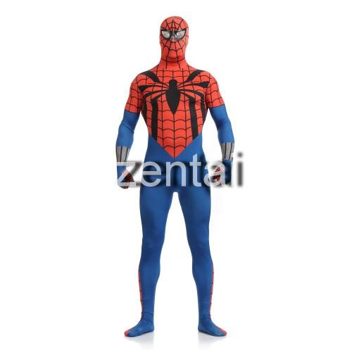 Amazing Spiderman Full Body Spandex Lycra Cosplay Zentai Suit