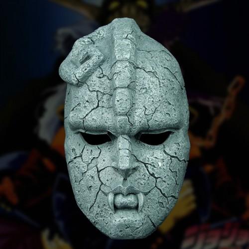Anime JoJo Bizarre Adventure Full Face Stone Ghost Mask Resin Mask
