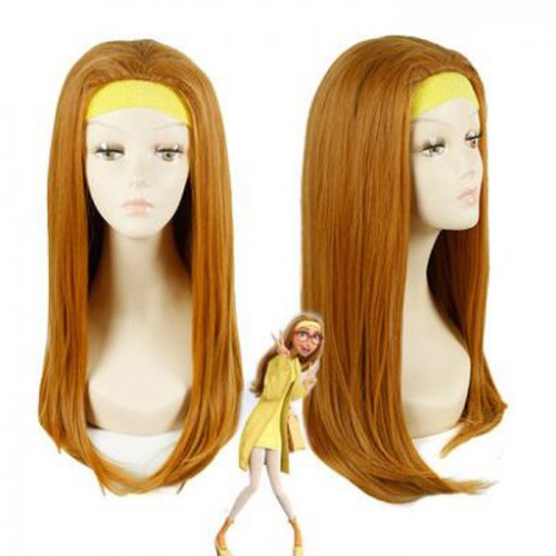 The Big Hero 6 Honey Lemon Wig is supple and easy to care.It could bear the high temperature for 180 degree.It incorporates inner cap with high quality.