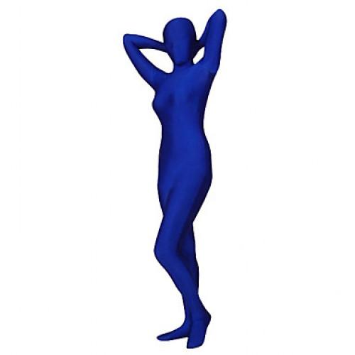 Blue Spandex Lycra Original Zentai Suit