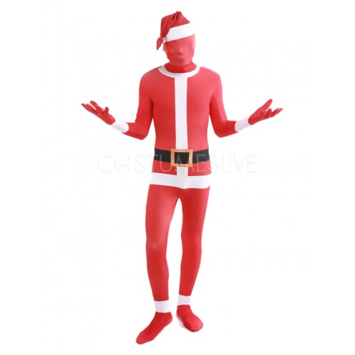 Christmas Sauta Claus Red Cosplay Costume