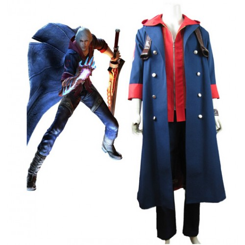 DMC 4 Nero Cosplay Outfit Costume