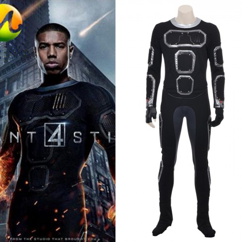 Fantastic Four Human Torch Jonathan Storm Cosplay Costume