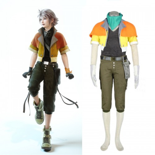 Final Fantasy XIII 13 Hope Estheim Cosplay Costume