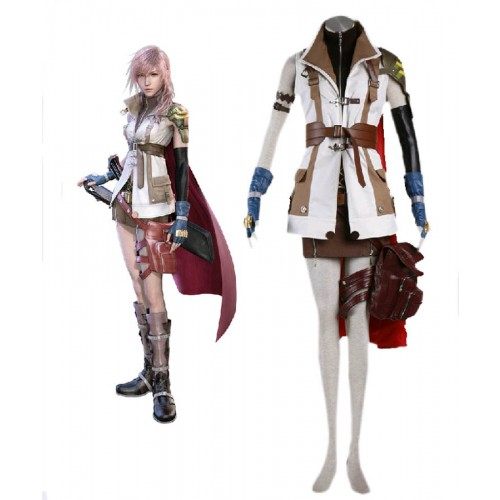 Final Fantasy XIII Lightning Eclair Farron Cosplay Costume