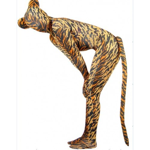 Full Body Tiger Tigrina Spandex Lycra Zentai