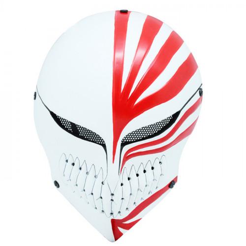GRP Mask Anime Bleach Mask Kurosaki ichigo Cosplay Mask Glass Fiber Reinforced Plastics Mask