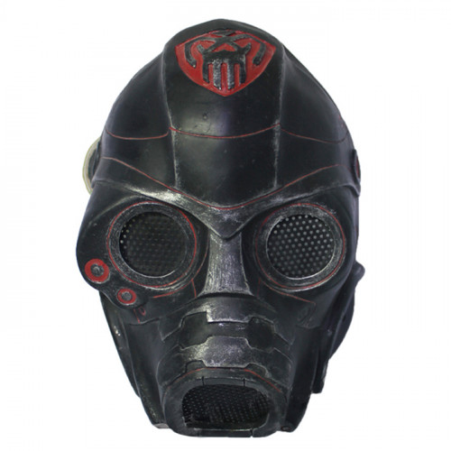 GRP Mask Game Resident Evil Cosplay Mask Waste Soil Mask Glass Fiber Reinforced Plastics Mask