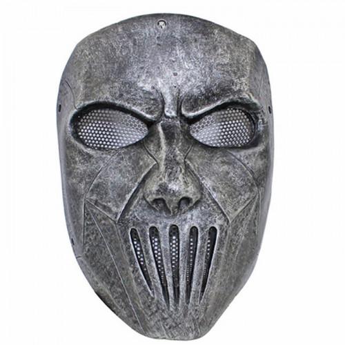 GRP Mask Heavy Metal Band Slipknot Mask Guitarist Mick Thomson Cosplay Mask Glass Fiber Reinforced Plastics Mask