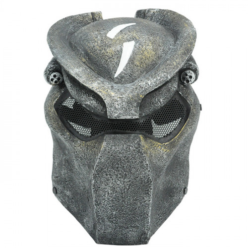 GRP Mask Movie Alien VS Predator Horror Mask Alien Hidden Cosplay Mask Glass Fiber Reinforced Plastics Mask