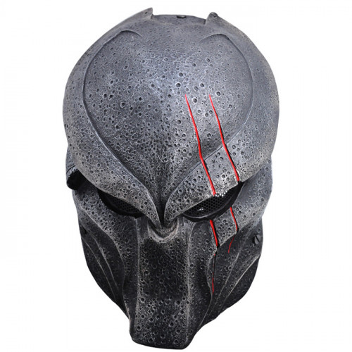GRP Mask Movie Alien VS Predator Horror Mask Predator Warrior Cosplay Mask Glass Fiber Reinforced Plastics Mask
