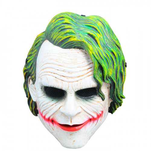 GRP Mask Movie Batman Dark Knight Cosplay Mask Clown Mask Glass Fiber Reinforced Plastics Mask