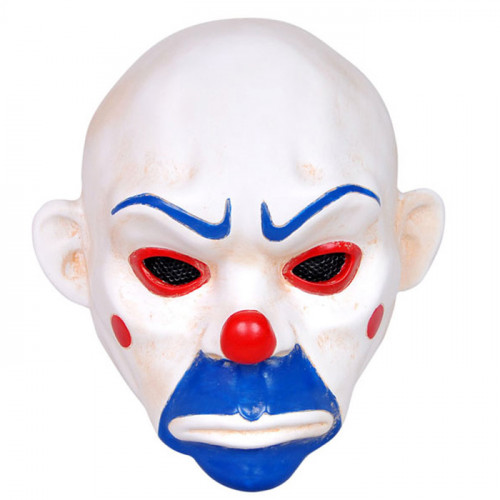 GRP Mask Movie Batman Dark Knight Cosplay Mask Clown Robbers Mask Glass Fiber Reinforced Plastics Mask
