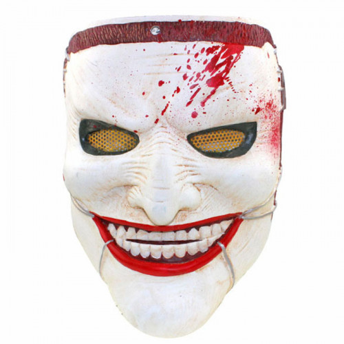 GRP Mask Movie Death Family Horror Mask Villain Mask Glass Fiber Reinforced Plastics Mask