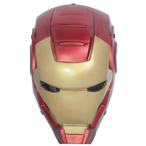 GRP Mask Movie Iron Man Cosplay Mask Glass Fiber Reinforced Plastics Mask
