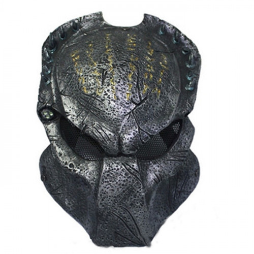 GRP Mask Movie Predator Cosplay Mask Predator Warrior Mask Glass Fiber Reinforced Plastics Mask