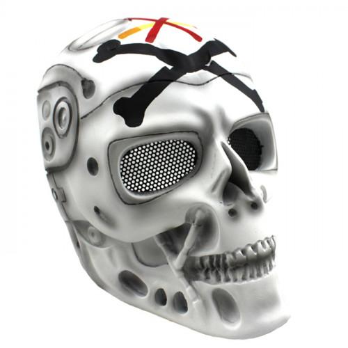 GRP Mask Movie The Terminator Cosplay Mask T-800 Robot Mask Glass Fiber Reinforced Plastics Mask