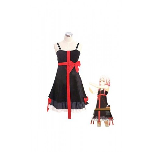 Guilty Crown Yuzuriha Inori Dress Costume Cosplay Fancy Party clothing Dress Japanese Suit Clothes