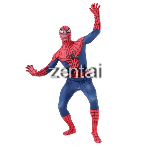 Halloween Amazing Spiderman Full Body Cosplay Zentai Suit