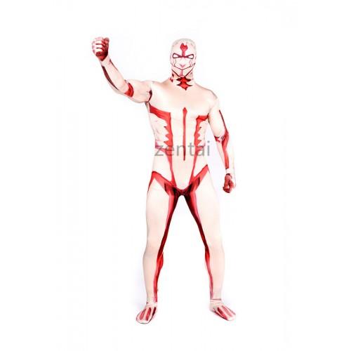 Attack on Titan Reiner Braun Full Body Lycra Zentai Suit