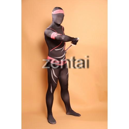 Japan Warrior Ninja Full Body Spandex Lycra Zentai Suit