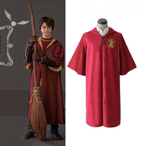 Harry Potter Cosplay Costume Quidditch Robe Costume