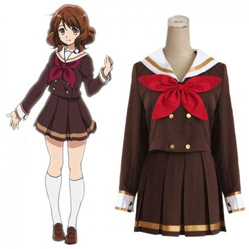 hibike! euphonium Cosplay Costume おうまえ くみこ Oumae Kumiko Costume School Uniforms