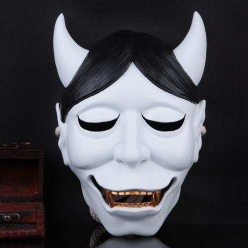 Shirakiin Riricho Ghost Fox Mask