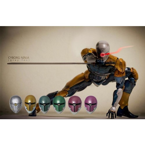 Game Metal Gear Gray Fox Cosplay Mask