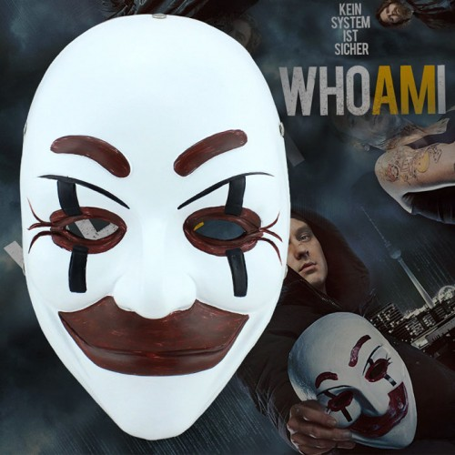 Who Am I No System is Safe Benjamin Engel Clay Cosplay Mask