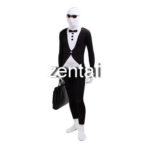 Mr.Suit Full Body Spandex Lycra Cosplay Zentai Suit