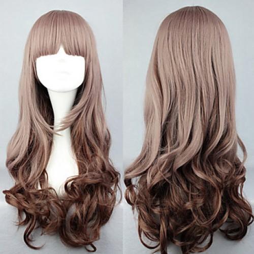 My Little Sweet Gradient Brown 60cm Casual Lolita Wig