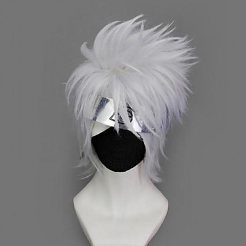 Naruto Hatake Kakashi Cosplay Wig