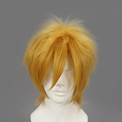 Naruto Fourth Hokage Minato Namikaze Cosplay Wig