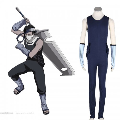 Naruto Momochi Zabuza Cosplay Costume