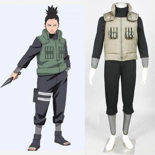 Naruto Cosplay Nara Shikamaru Cosplay Costume