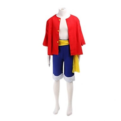 One Piece Monkey D·Luffy Two Years Later Cosplay Costume