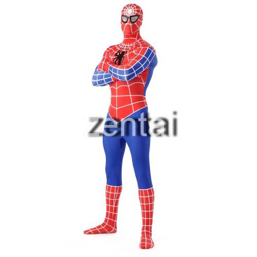 Superhero Amazing Spiderman Full Body Cosplay Zentai Suit