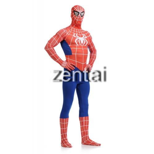 Superhero Amazing Spiderman Full Body Zentai Suit