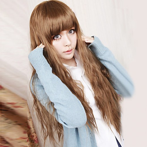 Sweet Lady Brown 80cm Princess Lolita Wig