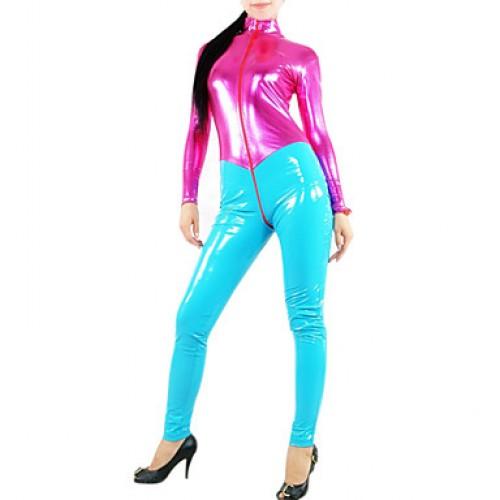Women PVC Spandex Catsuit