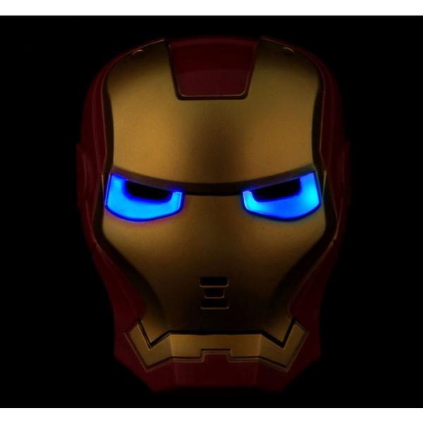 Iron man movie tv cosplay - Masque iron man adulte ...