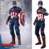 Marvel Movie Avengers Age of Ultron Captain America Cosplay Costume